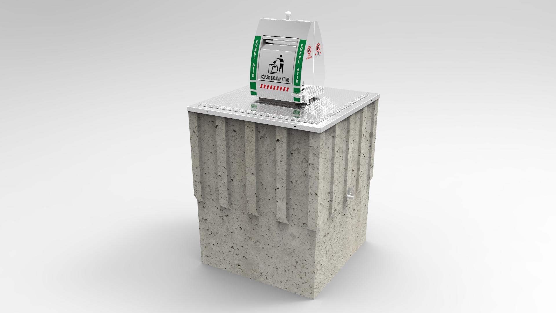 Tam Yeraltı Çöp Konteyner Sistemleri